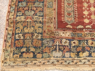 Antique West Anatolian Gordes Kula Prayer Rug