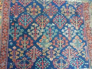 Antique Nortwest Persian Rug Fragment