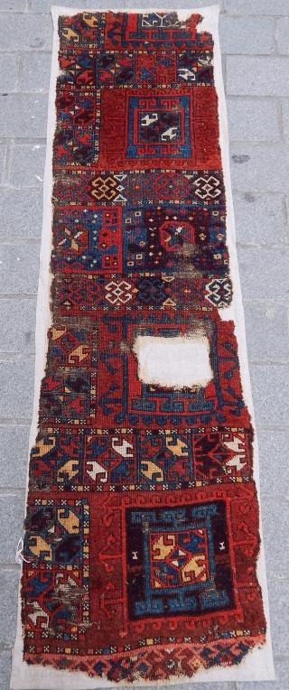 Antique West Anatolian Divan Rug Fragment