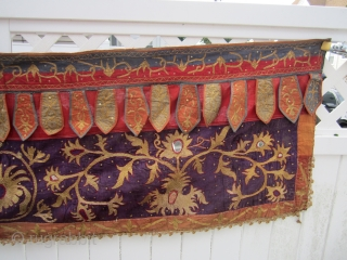 "south sumatra toran 1940 part of an estate of a friend dont know much about these was bought back in 1970 have 3 more 675.00 or best offer it measures 25"" x  ..."