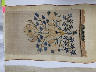 Very nice pair of Ottoman sash ends ca 1870 published in Roderick Taylor Ottoman textiles p 35
