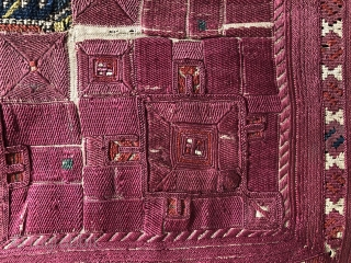 Absolutely outstanding  antique qibleh textile from the Balkan's 