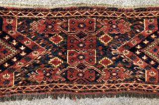 Antique Beshir torba ca 1880 size 108 x 38 cm