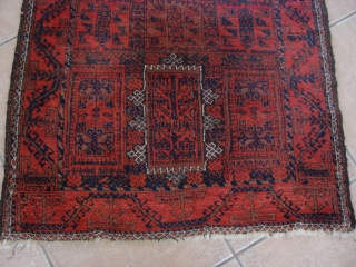Nice Antique Baluch - 39inches by 72inches - 99cm x 183cm. Just out of an estate has not been cleaned