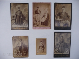 Caucasian Photographs; Evocative group of cabinet cards taken in Tiblisi, Batum and Baku in the 1880's.