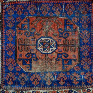 A Baluch Star in Octagon Khorjin/Bag-Face from the second half of the 19th Century