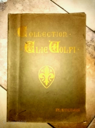 An important reference book for scholars and researchers of classical carpets. Auction catalogue of the Volpi auction of 1911. Plates only. Very good condition.