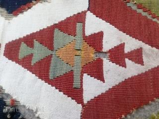 Anatolian kilim fragment 120x109 cm