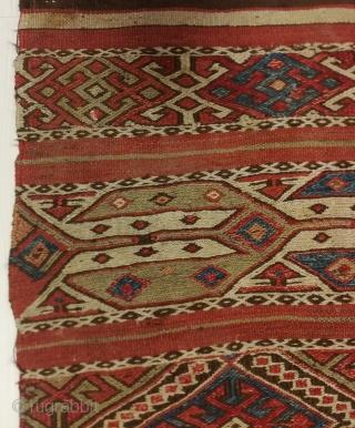 "Central Anatolian Mut Bag face 90x84cm / 3'x2'9"""