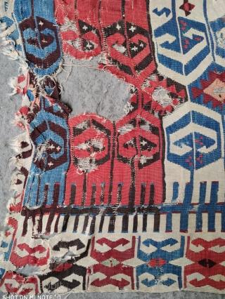 Sivas kilim fragment 19th Century Size:365x90cm