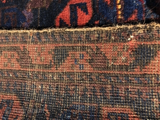 Baluch bag fresh to the market . Very nicely drawn with good color and lovely wool.