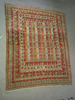 Antique SIVAS ZARA Turkish Rug from Private Collection // Original SAL Design // Late 19th Century // 146 x 117 cm // In good condition // PM me for more info