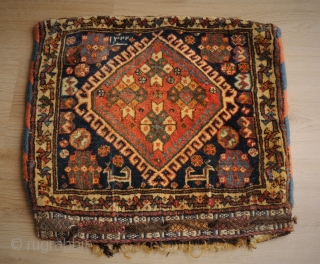 Qashqai bag, this one has it all! And something special: dated 1322 = 1904. probaly made for a special occasion or person. 