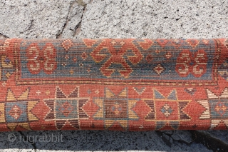 Lovely Antique Caucasian arrival in this weeks Online Auction: https://www.ebay.com/itm/154346107380  Check out here this weeks Auction round which has over 40 Antique Rugs...  All Auctions Link: https://www.ebay.com/str/collectorscollectionswitzerland