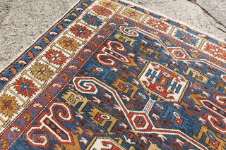 Lovely Antique Caucasian arrival in this weeks Online Auction: https://www.ebay.com/itm/154345784212  Check out here this weeks Auction round which has over 40 Antique Rugs...  All Auctions Link: https://www.ebay.com/str/collectorscollectionswitzerland