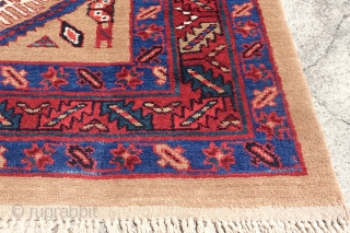 Camel Hair wide runner, mint condition, wool on wool, 126cm x 390cm or 4'1 x 12'7