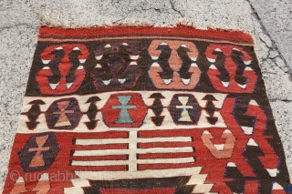 Antique Anatolian Kilim, 68cm x 401cm, Highly Decorative and Collectable Kilim, please ask