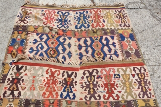 Antique Anatolian Kilim, 156cm x 370cm, Highly Decorative and Collectable Kilim, please ask