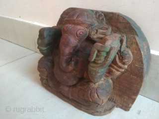 Old Vintage God Ganesha Statue, Ethnic Statue, Handicraft Statue, Art Deco.  ITEM DESCRIPTION Old Vintage God Ganesha Statue Wooden Handcrafted Statue Sitting with four hands Collectible old Carved Wooden God Ganesha statue Good for collection and  ...
