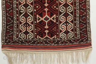 Yomut namazlik Prayer rug. Dated 1939. Natural colors and in great condition. 2-6 x 3-8 ft.