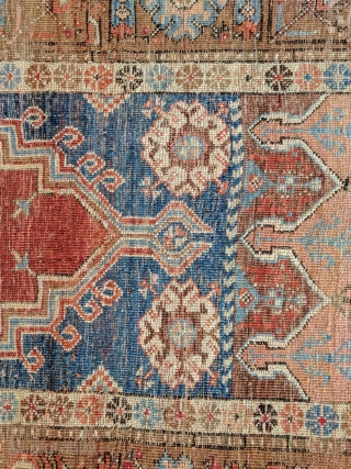 "Turkish pray rug, ladik (3'9"" * 7'), mid 19th century,  no repairs"