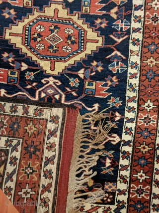 "North West Persian excellent condition no repairs , circa 1890 (3'11"" * 15'1"")"