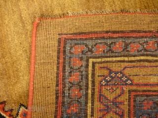 5' x 7' 7'' Camel Hair Bijar - 19th Century Thank you, this piece is sold.