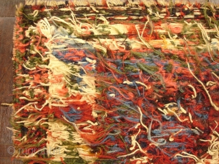 """19th Century Sumac Bag - 22"""" x 22"""" Thank you, this piece is sold."""