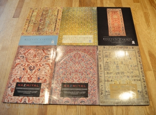 Hali Magazine Volume 24, issues 121, 122, 123, 124, 125, 126 in very good condition.