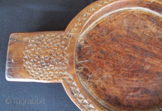 Anatolian Coffee Cooler. Early 20th C. Walnut.