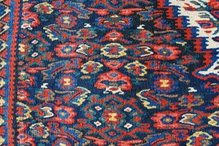 A great Bidjar kilim.  Cm 105x150. Second half 19th century. In mint condition. Fantastic natural dyes. We all know that Kurds were very good dyers.