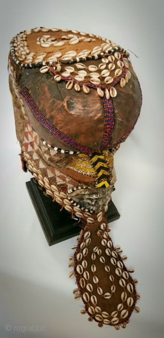 Royal Kuba Elephant Mask Congo.