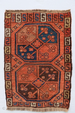 Central Asian Napramach or mat, most likely Ersari