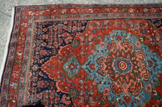 """Bidjar Small Rug. These are my absolute favorite rugs to buy, sell and own! The epitome of an heirloom rug. This piece is in """"Time Capsule"""" or mint condition with the original  ..."""