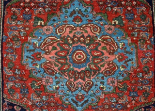 "Bidjar Small Rug. These are my absolute favorite rugs to buy, sell and own! The epitome of an heirloom rug. This piece is in ""Time Capsule"" or mint condition with the original  ..."