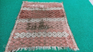 unique Konya or sivas area turkish rug
