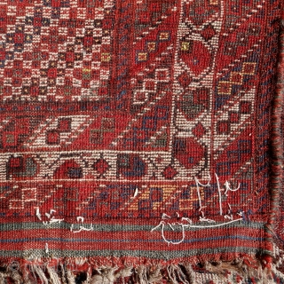 Antique Khamseh rug, 236x152, natural colours, even low pile, condition as to be seen, carefully washed, ready to share his soul with you.