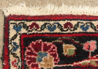 """Hamadan, 20th Century, Wool, Mint, Very Lightly Used Condition, 60"""" X 43""""  SOLD"""