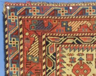 "Caucasian, Marasali Prayer Rug, c.1875-1910, 70"" X 38"", Washed, Shows some wear... SOLD THANKS"