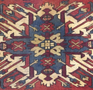 "Antique Caucasian, ""Eagle Kazak"" or ""Karabagh"", c.1900-1920(?), 85"" X 47"",