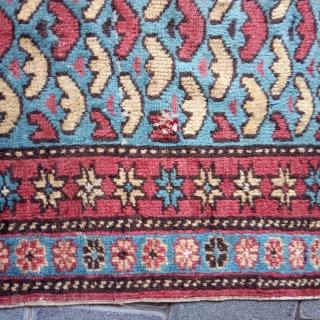 Small caucasin rug size:60x56-cm please ask