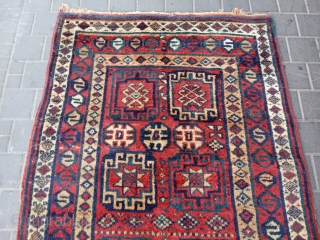 Kurdish rug antiqe size:210x118-cm please ask
