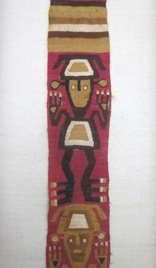 Very well preserved Chimu weaving  146 cm x 9 cm