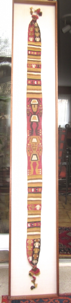 Very well preserved Chimu weaving