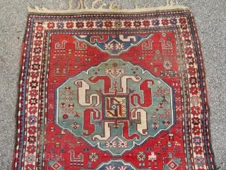 Chondsoresk Karabagh carpet  Cloudband motives  226 cm x 155 cm  Attractive price