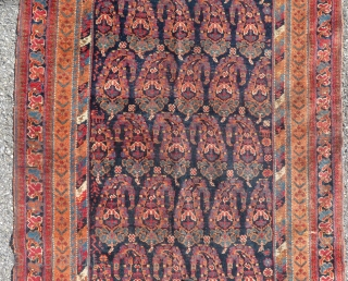 Afshar on wool foundations  Lovely colours  285 x 102 cm  Circa 1900  To EU shipping from France: no custom charges