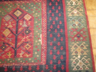 ANTIQUE SHARKOY KILIM. SECOND HALF 19. CENTURY