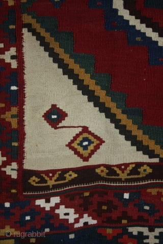 Gashgaï kilim, 19th century.