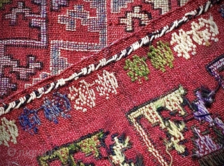 Anatolian cicim cover. Good condition, no excessive wear / repairs. Size: 230cm x 165cm