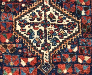 South Persian Tribal, Intimate long haired , saturated and great ranged natural colored , ( white and black and prob. darkest browns are raw wool. ) all woolen ( and some goat  ...